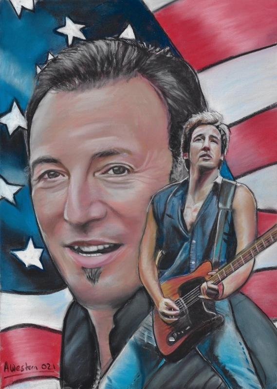 Bruce Springsteen por western61